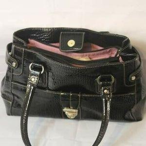 Liz Claiborne Handbag Purse Women's  Black